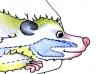Opossum Klappmaulpuppe